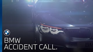 BMW A-call. Accident Call.