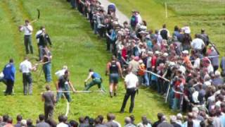 preview picture of video 'Mannschaftswettkampf Handmähen Herisau'