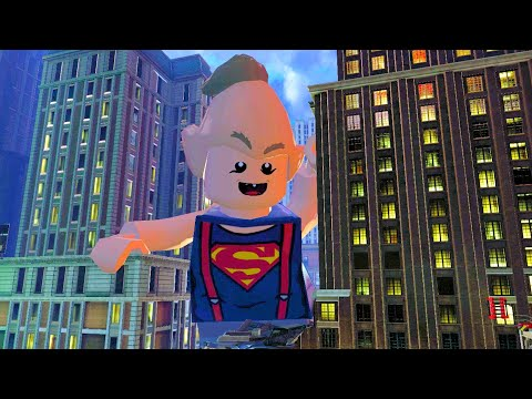 , title : 'Ghostbusters Defeat Sloth Superman The Destroyer (2016 Marshmallow Man) Final Boss LEGO Dimensions