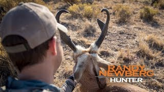 How To Cape Your Trophy Pronghorn with Randy Newberg