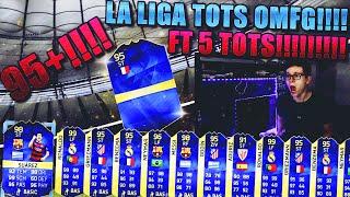 FIFA 16 PACK OPENING DEUTSCH  FIFA 16 ULTIMATE TEAM  5x LA LIGA TOTS FT 95+ TOTS OMFG