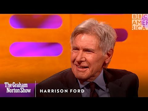 Harrison Ford dal pěstí Ryanu Goslingovi - The Graham Norton Show