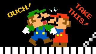 Mario makes Luigi SUPER ANGRY