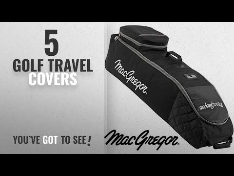 Top 10 Golf Travel Covers [2018]: Macgregor Men's VIP Deluxe Wheeled Travel Cover - Black