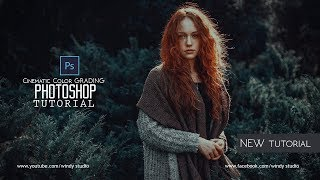 Cinematic Color Grading In Photoshop 2018