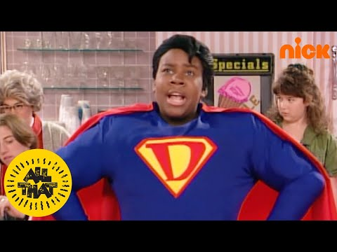 Superdude vs Milkman at the Ice Cream Parlor | All That