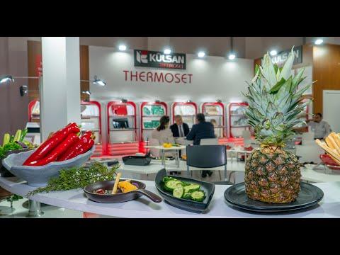 Külsan Thermoset, Horeca İzmir Fuarıında bir çok ünlü aşçıyı ağırladı.