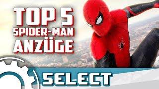 Die besten Spider-Man Anzüge!