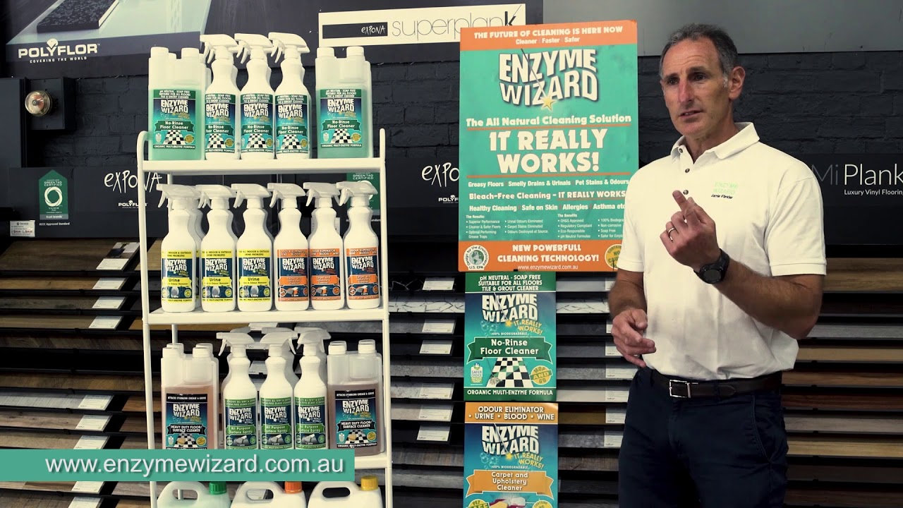 Enzyme Wizard Cleaning Technology – Why is it so special? How does it work?