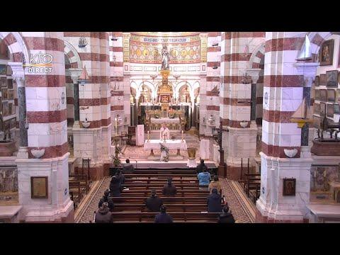 Laudes et Messe du 22 avril 2021 à Notre-Dame de la Garde