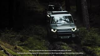 YouTube Video jkb-JTIJSwI for Product Land Rover Defender (L663) by Company Land Rover in Industry Cars