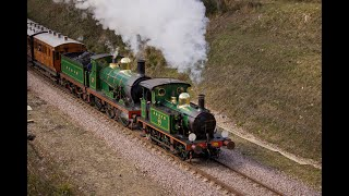 preview picture of video 'Bluebell Railway East Grinstead Opening First Birthday Gala - Saturday 22nd March 2014'