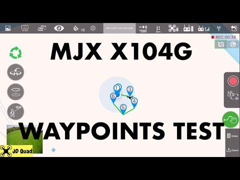 MJX X104G Waypoints Video - Courtesy of Banggood