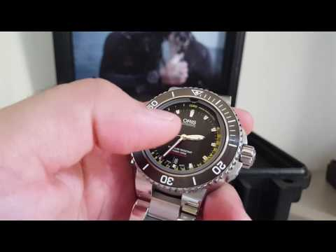 Oris Depth Gauge Diver 500mt Video Review ITA