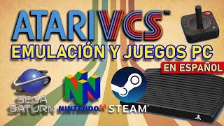 💊 Juegos de PC en Atari VCS ¿Puede mover SEGA SATURN? 🪐 Goldeneye de N64
