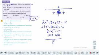 Eğitim Vadisi 11.Sınıf Matematik 11.Föy Denklem ve Eşitsizlik Sistemleri 3 Konu Anlatım Videoları