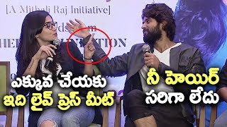 Rashmika Mandanna Serious On Vijay Devarakonda Behaviour | Filmy Monk