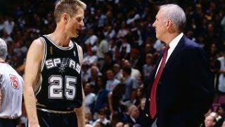 Spurs Anniversary: Steve Kerr Sparks A Run For The Spurs - Video Youtube
