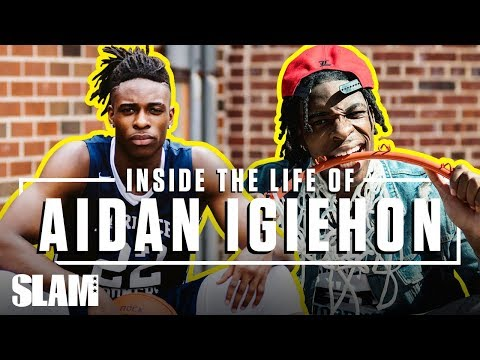 5-Star Aidan Igiehon Runs NYC as the IRISH HULK 💪🏽 | SLAM Inside the Life