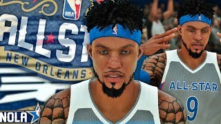 NBA 2K18 MyCAREER - 2018 All-Star Game! THE ALL-STAR GAME MVP! Curry Ankles Are SOFT!