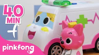 Ambulance Rescue Special   Car Videos   +Compilation   Pinkfong Songs & Stories for Children