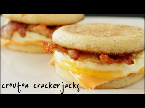 Homemade McD's Egg McMuffins - How to Make Your Own McMuffin