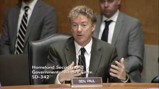 Rand Paul Questions Department of Homeand Security Nominee General Kelly