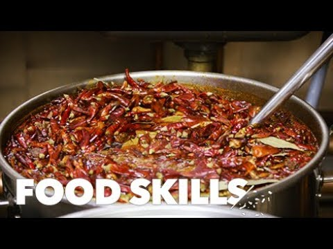 How to Eat Sichuan Hot Pot | Food Skills