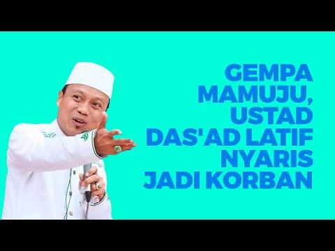 Gempa Mamuju, Ustad Das\'ad Latif Nyaris Jadi Korban