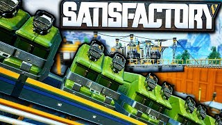 Automating the BEST Biofuel Power Plant! | Satisfactory Early Access Alpha Gameplay Ep 3