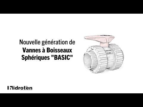 """Nouvelle vanne boisseau """"Basic"""""""
