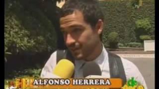 Alfonso Herrera prefiere no hablar de Belinda y esta contento con Camaleones