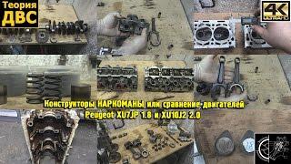 Конструкторы НАРКОМАНЫ или сравнение двигателей Peugeot XU7JP 1.8 и XU10J2 2.0