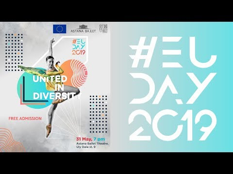 Europe Day 2019: modern ballet presented to Kazakhstanis
