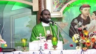 """YOU ARE THE SALT OF THE EARTH"" (Rev.Fr.Jaya Raju) @ St.Anthony's Shrine,HYD,TS,INDIA,07-06-16"