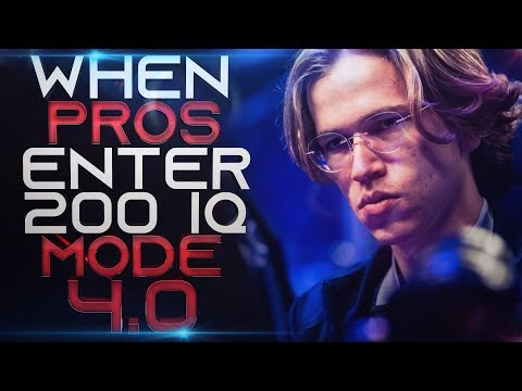 DOTA 2 - WHEN PROS ENTER 200 IQ MODE 4.0! (Smartest Plays & Next Level Moves By Pros)