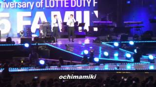 Lotte Family Concert - Growing Pains, Ment, Oppa Oppa (with Henry)
