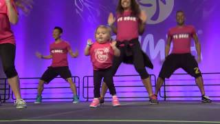 Audrey at the International Zumba Convention in Orlando!!