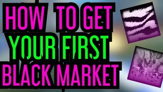 HOW TO GET YOUR FIRST BLACK MARKET DECAL! Rocket League Trading Beginners Guide Method 1