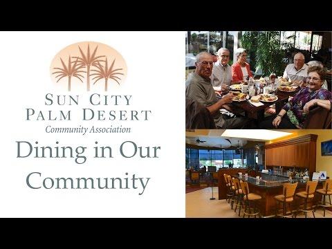 Sun City Palm Desert: Dining in our community restaurants & cafes