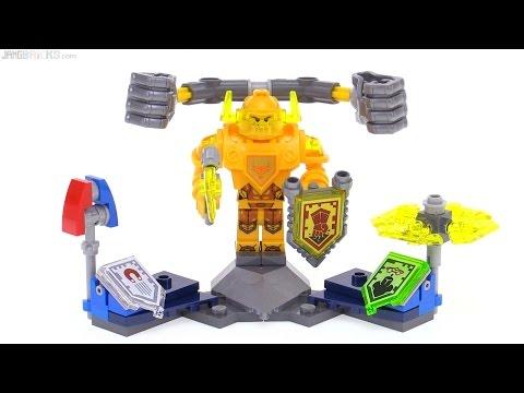 Lego Nexo Knights 70336 Ultimate Axl смотреть онлайн на Hahlife