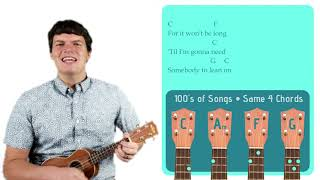 Lean On Me - Bill Withers | Easy Ukulele Tutorial & Cover