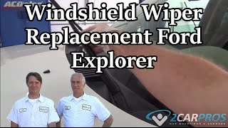 Windshield Wiper Replacement Ford Explorer