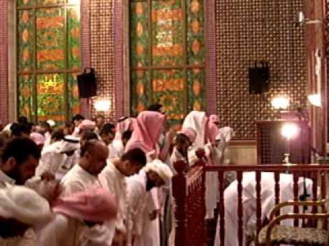 أحمد العجمي صلاة التراويح ودعاء القنوت 25 رمضان 1431  2010 جزء3 ت  احمد ايوب