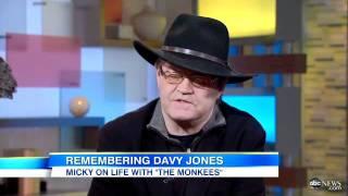 Davy Jones Dead: Fellow Monkees' Bandmember Micky Dolenz Remembers Jones in 'GMA' Interview