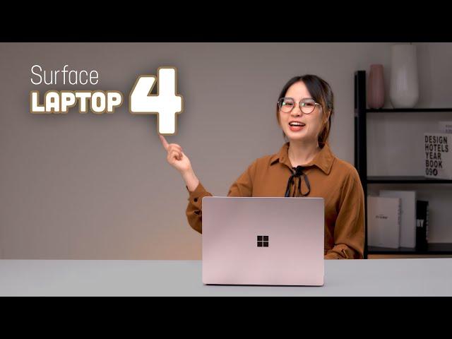 Surface Laptop 4: Ngày ra mắt, Giá bán, Thông số kỹ thuật