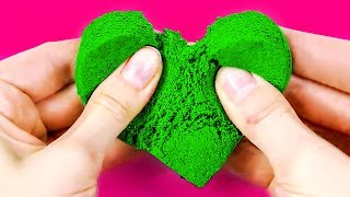 10 KIDS ACTIVITIES THAT ARE BETTER THAN COMPUTER GAMES || DIY KINETIC SAND - Video Youtube