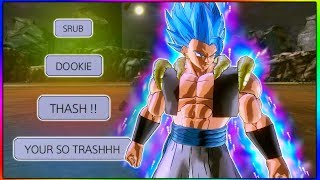 He Thought He Could Trash Talk, So I Used Super Saiyan Blue Gogeta | Dragon Ball Xenoverse 2