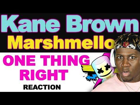 "Marshmello x Kane Brown - One Thing Right ""Remix"" - TM Reacts (2LM Reaction)"