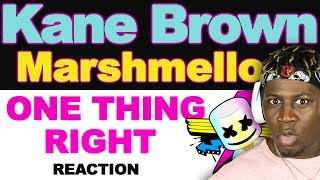 "Marshmello X Kane Brown   One Thing Right ""Remix""   TM Reacts (2LM Reaction)"